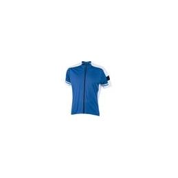 T-shirt de cycliste avec fermeture homme
