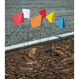 piquet drapeau de signalisation