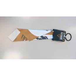 Porte clé et essuie lunette personnalisé