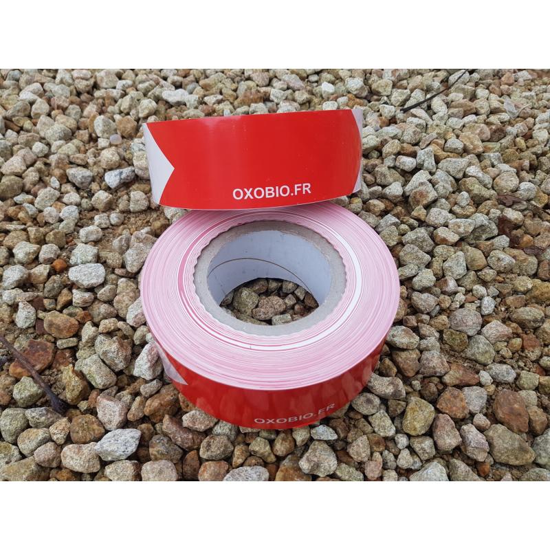 Lot 10 Rubans oxobiodegradable - 250m*50mm