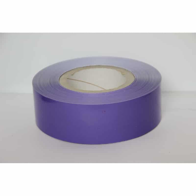 Rubalise plastique couleur unie - 250m*50mm - 9 couleurs