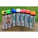 Bombe de Marquage temporaire - 7 couleurs disponibles