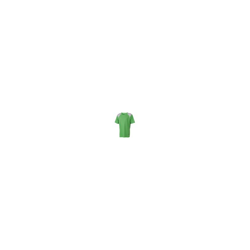 Tee shirt polyester col rond