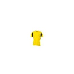 Tee shirt polyester bi color