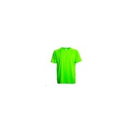 Tee shirt polyester bi color