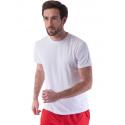 Tee shirt technique léger blanc sans marquage lot de 100
