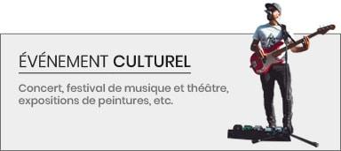 Événement Culturel - Organisation