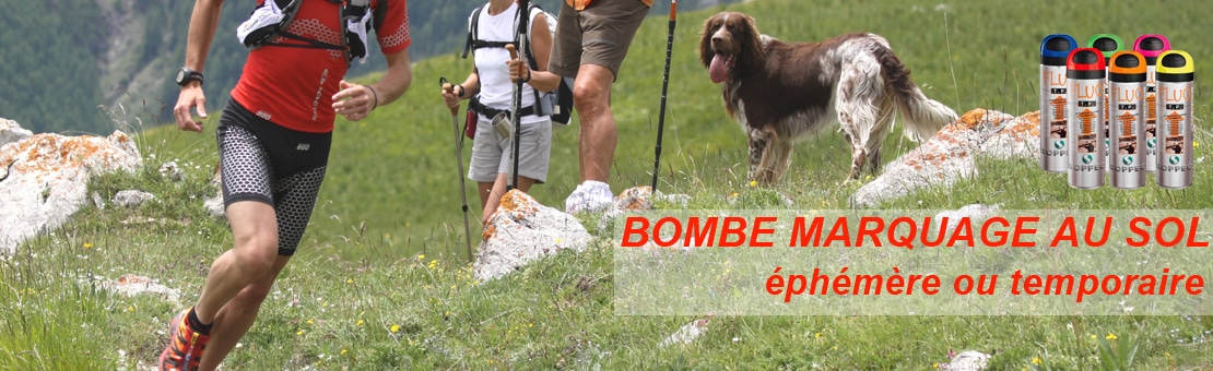 Bombe marquage